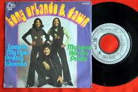 "TONY ORLANDO & DAWN LOOK IN MY EYES 1975 RARE EXYU 7"" P"