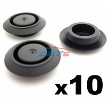 10x 18mm Hole Blanking Plugs / 18mm Blanking Grommets- For a 2mm Panel Thickness
