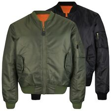 Mil-tec us cazadora ma1 aviador chaqueta pes pilotos chaqueta US Army chaqueta xs-3xl