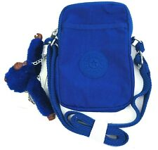 Kipling Tally Phone Travel Crossbody Bag Twilight Blue NWT