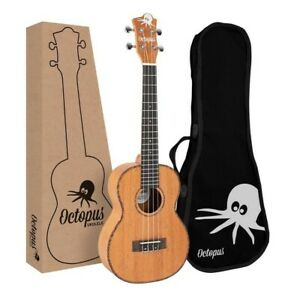 High quality Octopus advanced tenor ukulele- mahogany body, comes with free case
