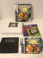THE LAND BEFORE TIME (2001 Dinosaur Game Boy Gameboy Color Advance GBC GBA) CIB