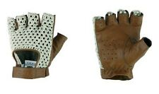 GUANTES OMP TAZIO:VINTAGE  CREAM/MARRON LEATHER TALLA:S