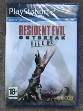PlayStation 2: Resident Evil Outbreak File #2 (Factory Sealed Condition) UK PAL