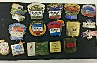 Olympics pin lot of 16 Olympin Collector's Club and Related Pins