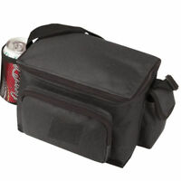 "INSULATED 6-PACKS COOLER PICNIC BEER DRINK WATER LUNCH BAG BAGS BOX  9"" x 6"""