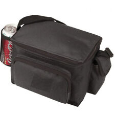 """INSULATED 6-PACKS COOLER PICNIC BEER DRINK WATER LUNCH BAG BAGS BOX  9"""" x 6"""""""