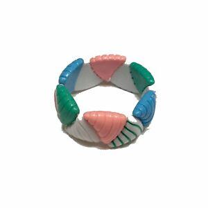 Fairy Kei Pastel Bracelet Kawaii Stretch Rainbow Jewelry Teen Gift Harajuku