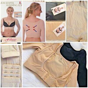 Women's Arm Shaper Slimming Upper Compression 3/4 Sleeve Posture Corrector S-XL