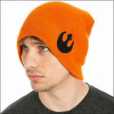 NWOT $18 STAR WARS REBEL ALLIANCE REVERSIBLE CUFF KNIT BEANIE ADULTS/KIDS