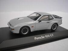 PORSCHE 924 GT 1981 PLATA 1/43 maxichamps 940066122 NUEVO
