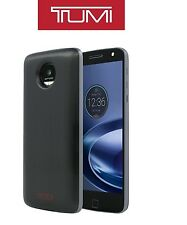 TUMI Style Shell Pack Moto Mods Case for Motorola Moto Z / Z Force Droid NEW