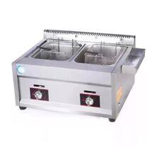 Tanke - LPG Gas Fryer  Tabletop Gas Fryer High Powerful Stainless 20L