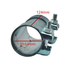 3 inch Exhaust Tube Pipe Connector Joiner Sleeve Clamp Connector Stainless steel