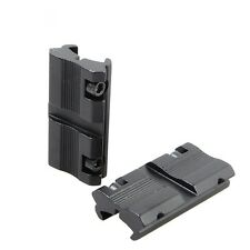 """HOT Picatinny/W 3/8"""" 11mm Dovetail to 7/8"""" 20mm Weaver Rail Adapter Scope Mount"""