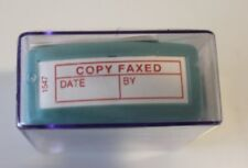"""X Stamper Red """"Copy Faxed"""" Code: 1547"""
