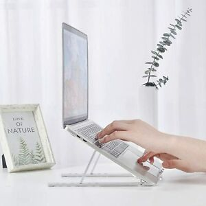 Universal Laptop Stand Holder Durable Portable Foldable Adjustable Notebook