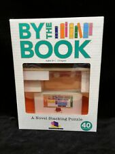 """Puzzle,"""" By the Book"""", Brainwright by The Book,A Novel Stacking Puzzle, Open Box"""