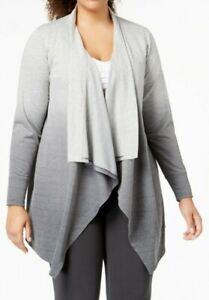 Ideology Women's Dip-Dyed Wrap - Plus Size NWT $54.50