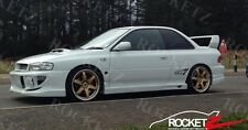 93-01 Subaru Impreza WRX STI GC C-West CW Style Side Skirt Steps FRP USA CANADA