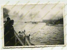 Foto, Kriegsmarine, Minenräumboote vor der Westerplatte, Danzig, Polen (N)19544