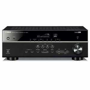 NEW Yamaha RX-V385 '85 Series 5.1 Channel Receiver Bluetooth Black RXV385