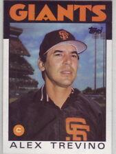 1986 Topps Baseball San Francisco Giants Team Set