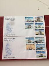 British Indian Ocean Territory 1999 FDC Sailing Ships