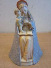 "Vintage 8.5"" Hummel Goebel Germany Virgin Mary 'Flower Madonna' Baby Jesus"