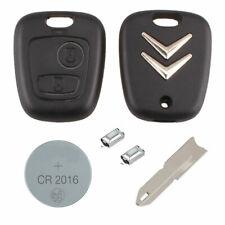 Citroen DIY Repair kit 2 button Replacement Car Key Case Fob with NE73 Blade