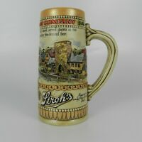 Ceramarte Stroh's Brewing Company Heritage Series 2 Beer Stein Mug