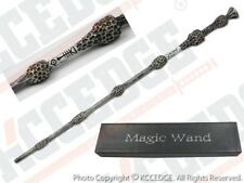 Harry Potter Movie Hogwarts Dumbledore w/ Scripture Magic Wand Cosplay Halloween