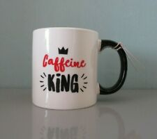 Large Caffeine King Mug. Ceramic Giant Mug. Caffeine King Dad Bants Mug