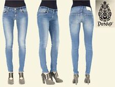 NWT $225 DONDUP P656 INES MADE LOW RISE SKINNY SHISMA JEAN. MADE IN ITALY. SZ 26