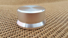 45x22  Aluminum Sound CD Player DIY Amplifier Universal Rotary Silver Audio Knob