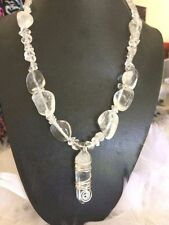 Quartz Silver Plated Handcrafted Necklaces & Pendants