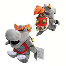 "Dry Bowser JR 7"" Super Mario Bros. Plush Doll Stuffed Toy"