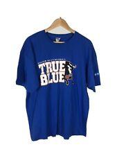 Durham Bulls Baseball Minors Blue T Shirt, Size XL