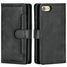 Cell Phone Case Wallet Card Holder Magnetic Flip Cover Mobile Purse Accessories