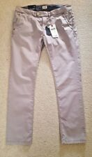 SENA chinos jeans by HILFIGER DENIM in stone grey Size W31 / L30 BNWT RRP £70