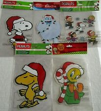 CHRISTMAS PEANUTS /RUDOLPH Window Gel     [Your choice]