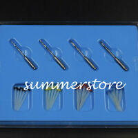 20 Pcs Dental High-intensity Straight Pile Quartz Fiber Resin Post & 4 Drill