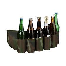 Biergürtel Camouflage Bierhalter Gürtel Bierholster Bierdosengürtel Beer Belt