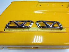 80-16 Harley Road King Street Electra Vintage Side cover V Logo Emblems Trim