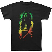 BOB MARLEY - Rasta Leaves T-shirt - NEW - LARGE ONLY