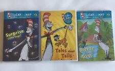 Dr. Seuss Cat in The Hat DVDs Lot of 3 Brand New Still in Shrink Wrap