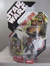 ROMBA & GRAAK 30th Anniv. Star Wars Return Jedi EWOKS Action Figure Mint in Box