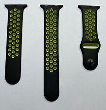 Apple Watch Nike+ Black Volt Sport Band Series 1 2 3 42mm 4 5 6 SE 44mm Genuine
