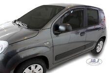 Fiat Panda III 5 portes 2012-prés Deflecteurs d'air Déflecteurs de vent 2pcs