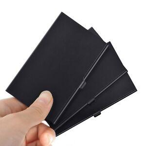 Business Name Credit ID Card Holder Box Metal Alumium Pocket Box Case
